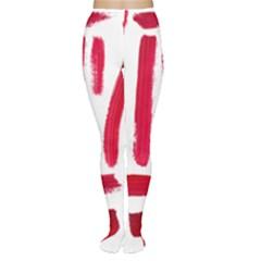 Paint Paint Smear Splotch Texture Women s Tights