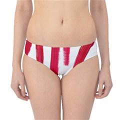 Paint Paint Smear Splotch Texture Hipster Bikini Bottoms
