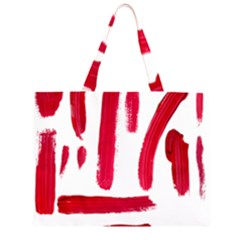 Paint Paint Smear Splotch Texture Large Tote Bag