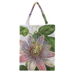 Passion Flower Flower Plant Blossom Classic Tote Bag