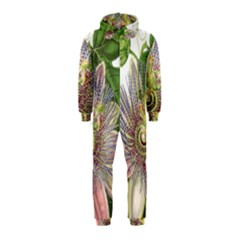 Passion Flower Flower Plant Blossom Hooded Jumpsuit (kids)