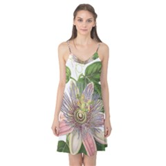 Passion Flower Flower Plant Blossom Camis Nightgown