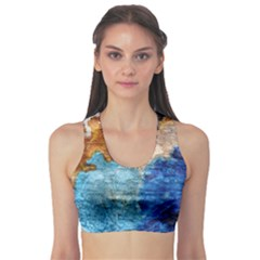 Painted texture        Women s Sports Bra