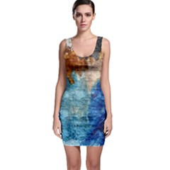 Painted Texture              Bodycon Dress