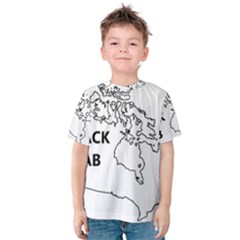 Black Lab Origin Kids  Cotton Tee