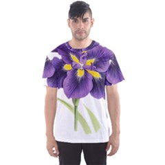 Lily Flower Plant Blossom Bloom Men s Sport Mesh Tee