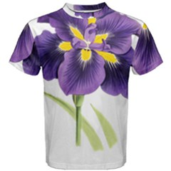 Lily Flower Plant Blossom Bloom Men s Cotton Tee