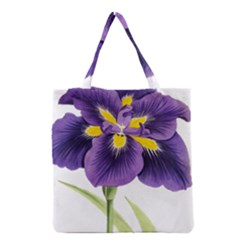 Lily Flower Plant Blossom Bloom Grocery Tote Bag
