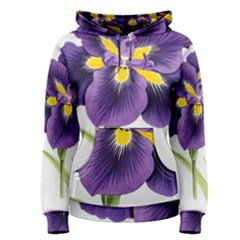 Lily Flower Plant Blossom Bloom Women s Pullover Hoodie