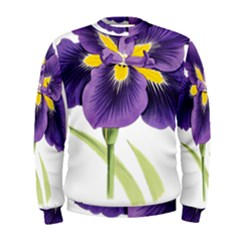 Lily Flower Plant Blossom Bloom Men s Sweatshirt