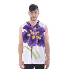 Lily Flower Plant Blossom Bloom Men s Basketball Tank Top