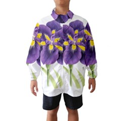 Lily Flower Plant Blossom Bloom Wind Breaker (kids)