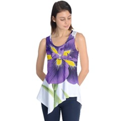 Lily Flower Plant Blossom Bloom Sleeveless Tunic