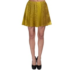 Beer Beverage Glass Yellow Cup Skater Skirt