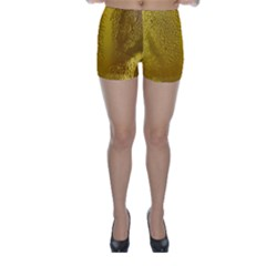Beer Beverage Glass Yellow Cup Skinny Shorts