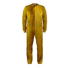 Beer Beverage Glass Yellow Cup Onepiece Jumpsuit (kids)