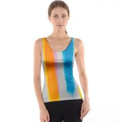 Watercolors stripes             Tank Top