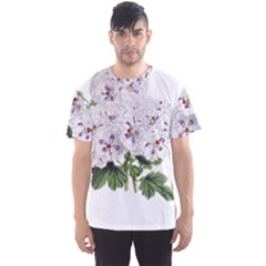 Flower Plant Blossom Bloom Vintage Men s Sport Mesh Tee