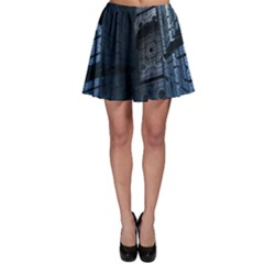 Graphic Design Background Skater Skirt