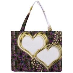 Lover Romantic Couple Apart Mini Tote Bag