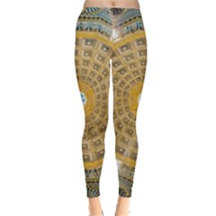 Arches Architecture Cathedral Leggings