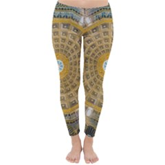 Arches Architecture Cathedral Classic Winter Leggings