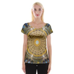 Arches Architecture Cathedral Women s Cap Sleeve Top