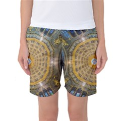 Arches Architecture Cathedral Women s Basketball Shorts