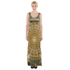 Arches Architecture Cathedral Maxi Thigh Split Dress
