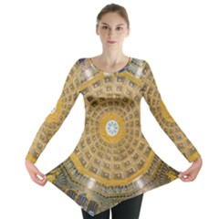 Arches Architecture Cathedral Long Sleeve Tunic