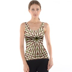 Kaleidoscope Online Triangle Tank Top