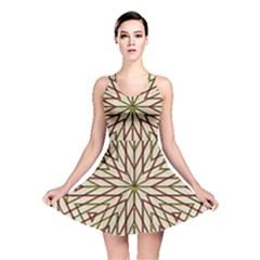 Kaleidoscope Online Triangle Reversible Skater Dress