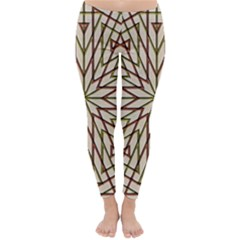 Kaleidoscope Online Triangle Classic Winter Leggings