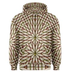 Kaleidoscope Online Triangle Men s Zipper Hoodie