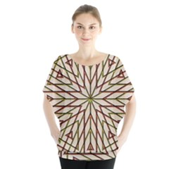 Kaleidoscope Online Triangle Blouse