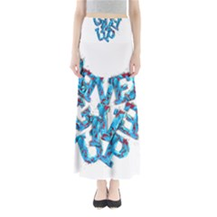 Sport Crossfit Fitness Gym Never Give Up Maxi Skirts