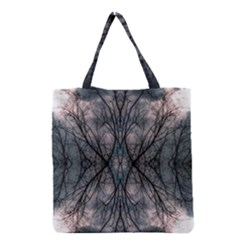 Storm Nature Clouds Landscape Tree Grocery Tote Bag