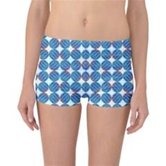 Geometric Dots Pattern Rainbow Reversible Bikini Bottoms
