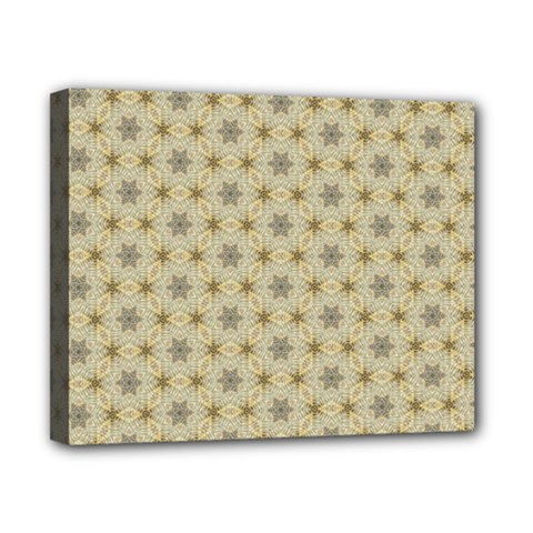 Star Basket Pattern Basket Pattern Canvas 10  X 8