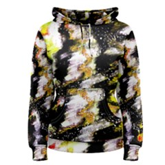 Canvas Acrylic Digital Design Women s Pullover Hoodie