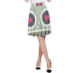 Robot A-Line Skirt