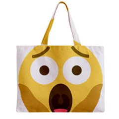 Scream Emoji Mini Tote Bag