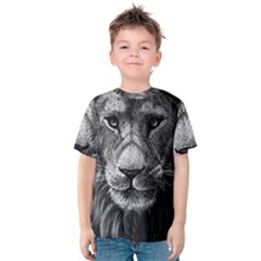 My Lion Sketch Kids  Cotton Tee
