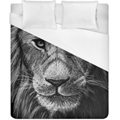 My Lion Sketch Duvet Cover (california King Size)