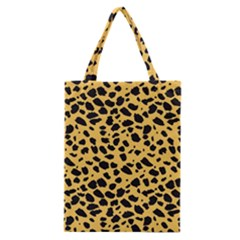 Skin Animals Cheetah Dalmation Black Yellow Classic Tote Bag