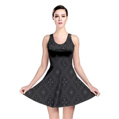 Star Black Reversible Skater Dress