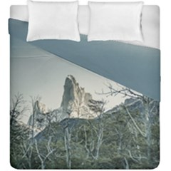 Fitz Roy Mountain, El Chalten Patagonia   Argentina Duvet Cover Double Side (King Size)