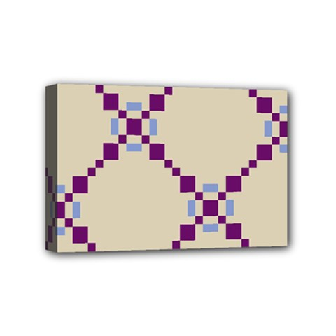 Pattern Background Vector Seamless Mini Canvas 6  x 4