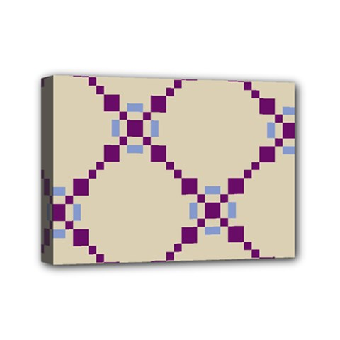 Pattern Background Vector Seamless Mini Canvas 7  X 5