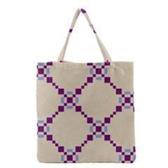 Pattern Background Vector Seamless Grocery Tote Bag